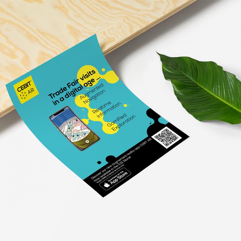 cebit flyer design roy mediengestaltung Bremen
