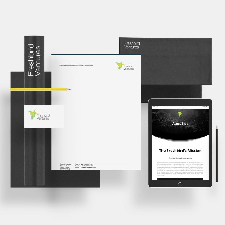 Freshbird ventures Logodesign roy mediengestaltung Bremen